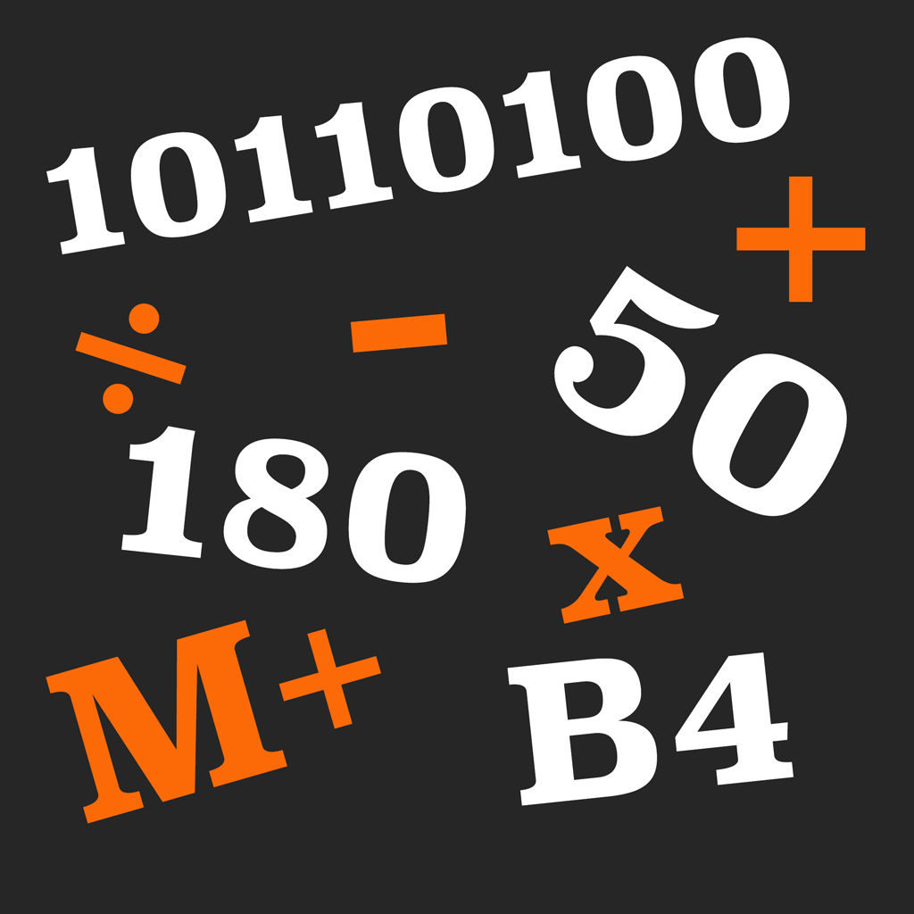 Base Calculator App Icon